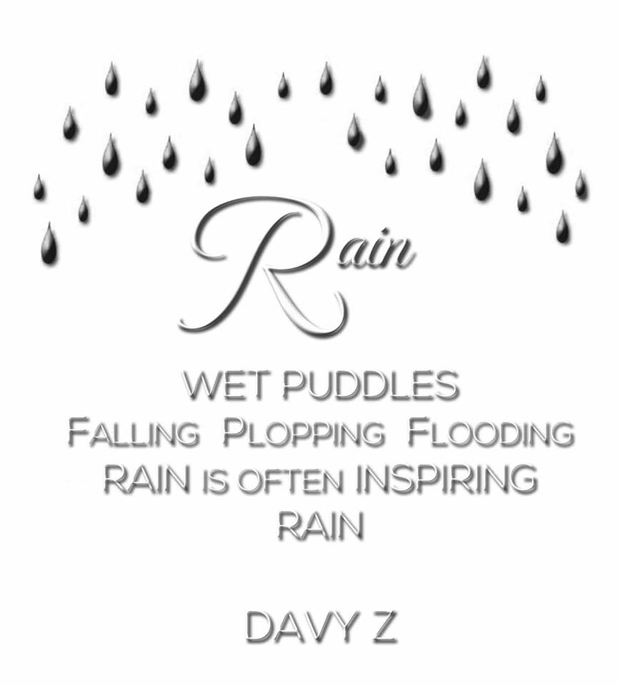 Rain A Poem By My Son Davy Author Kathryn Andrews
