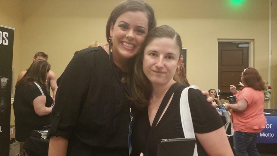 Cindy and me... xo