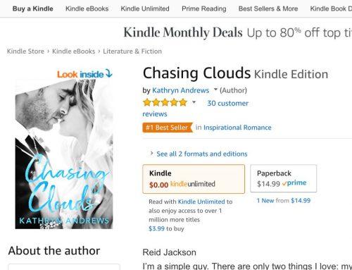 #1 Bestseller in Inspirational Romance
